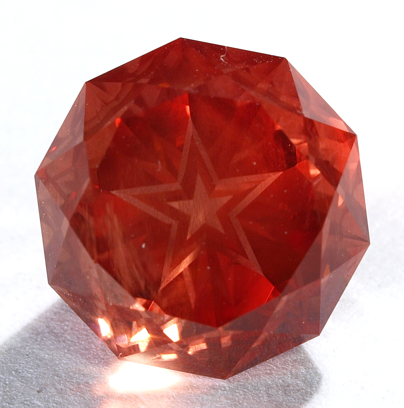 Star Cut Gem Sunstone